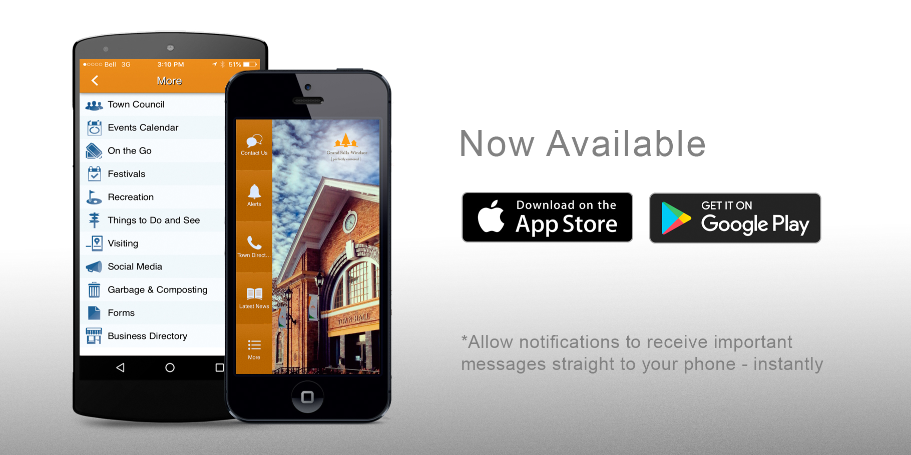 Town App, Grand Falls, NL, AppAds Promotions, Newfoundland App Developer