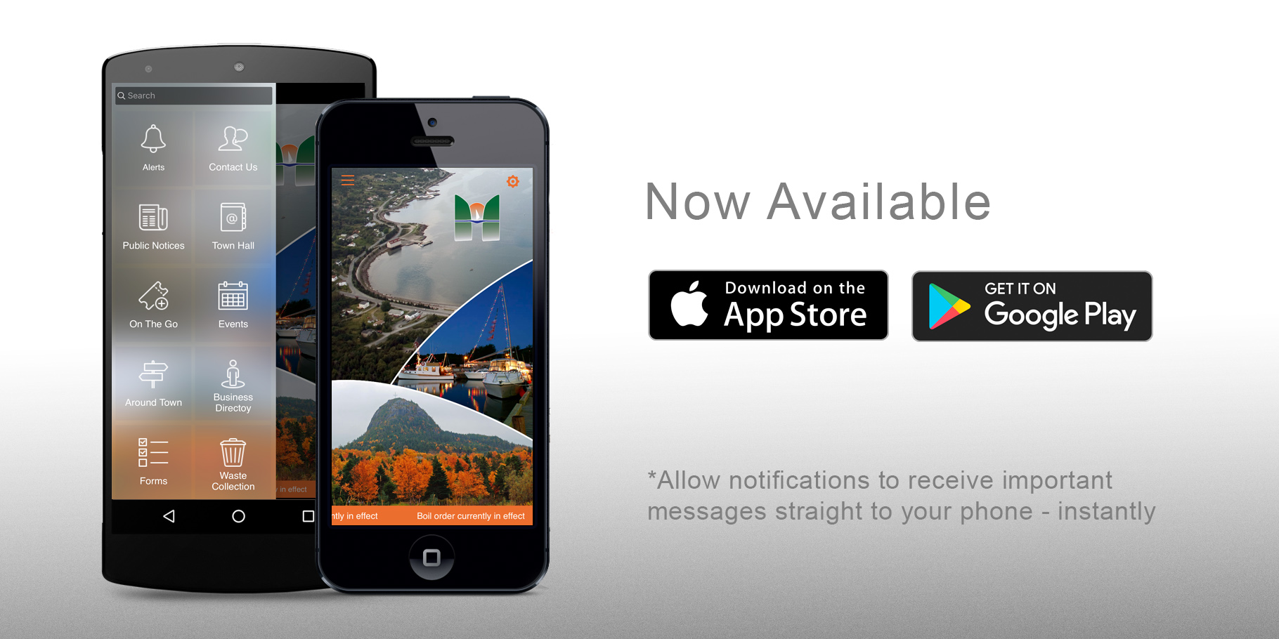 Town of Holyrood App, AppAds Promotions, NL