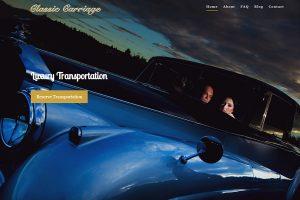 Classic Carriage Website Design | St. John's NL
