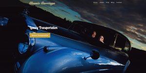 Classic Carriage Website Design | Newfoundland